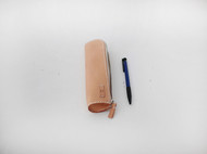 f2studio手工植鞣皮笔袋 复古简约收纳 铅笔袋女 化妆包