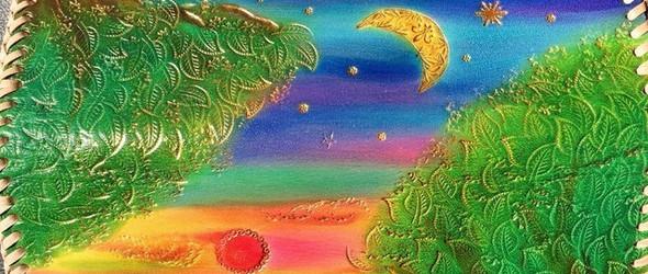 日本冲绳地方的达人作品,太阳月亮星辰的话题