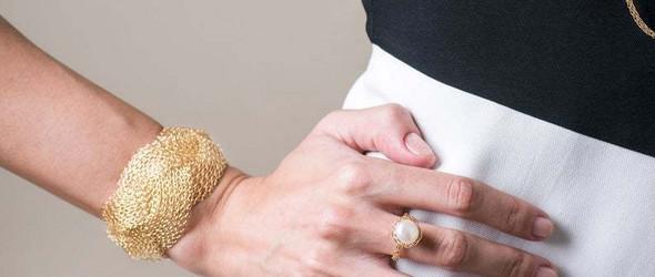 金属线材编织的配饰和杂物  Yael Falk