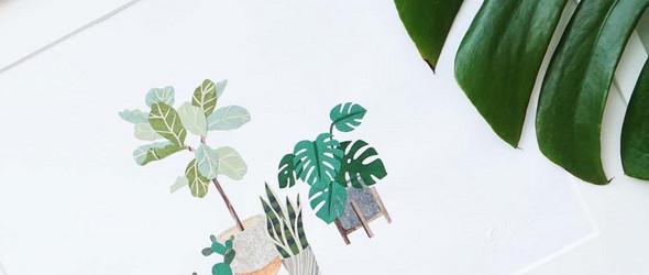 惟妙惟肖的微缩纸雕植物:Tara Lee Bennett(塔拉·李·贝内特)