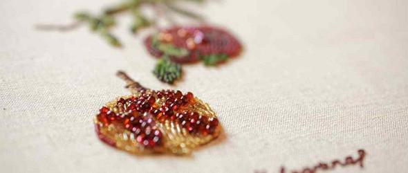 清新复古的刺绣植物 | Moroz embroidery