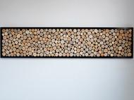 北欧风格客厅装饰画沙发背景墙画木头画玄关卧室餐厅办公室壁画挂画