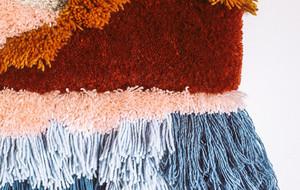 Latch Hook 段段绣(手鉤紗)钩编视频教程 - 以段段绣的方式,制作华丽的挂毯