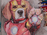 #次狼MARVEl系列#02 Iron man
