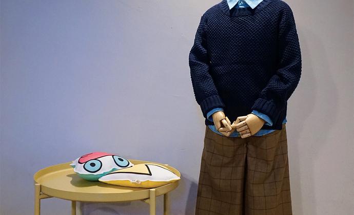 【未艾春季新品】儿童格子阔腿裤