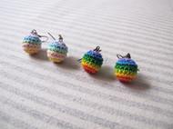 彩虹糖果,耳环