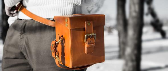 伦敦设计师Andrew and Alex与手工包袋品牌Chivote