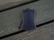 白馬手造 |手工制作皮具 钥匙包/钥匙收纳 手染黑色