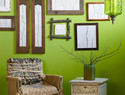 植物拓印石膏壁画diy教程 / Botanical Plaster Artwork