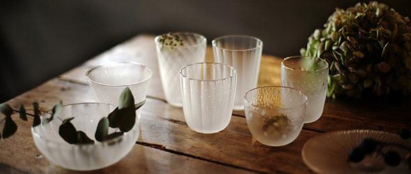 玻璃器上的四季之美 | 日本玻璃作家大迫友纪 (Yuki Osako )作品欣赏