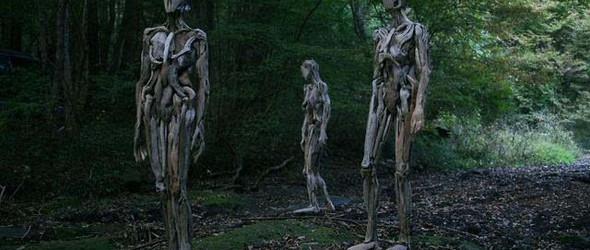 日本艺术家神奇之作:像人一样行走的树