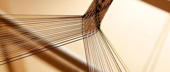 """多田牧子 - 编织的多彩""""组纽""""织带和手绳"""