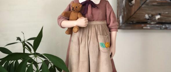 日本神之手:日本皮雕大师本池秀夫与他创造的皮娃娃世界