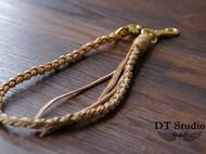 手工编织植鞣皮链