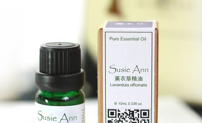 SusieAnn法国薰衣草精油单方香薰助睡眠祛痘印痘疤疤痕