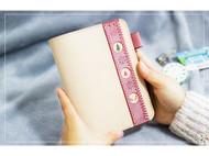 鼓岛猫宁丨 原创设计 暖心圣诞礼 定制暖萌少女心 手帐本皮A6