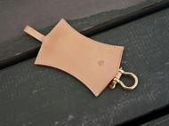 白馬手造 |手工制作皮具 钥匙包/钥匙收纳 原色植鞣