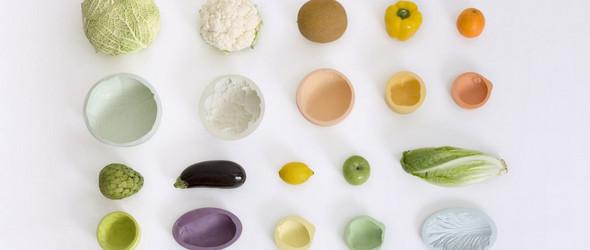 PCM:以瓜菜水果为创意原型,制作出逼真的粘土生活用品