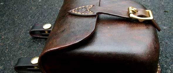手工皮革教程:使用湿法成型(定型)手工制作一个皮革小包教程(第二部分)