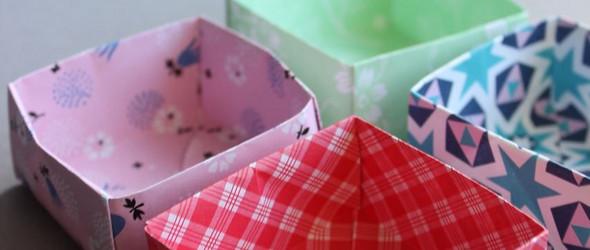 DIY折叠纸盒