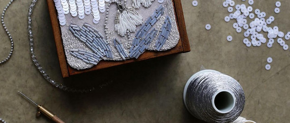 优雅知性的法国绣和薄纱绣 · Yvonne Morgun Studio