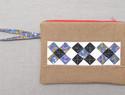 DIY布艺图解教程:拉链拼布手提包/手包