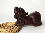 【LR ART】独立设计 印度小叶紫檀 纯手工雕刻 貔貅 只进不出