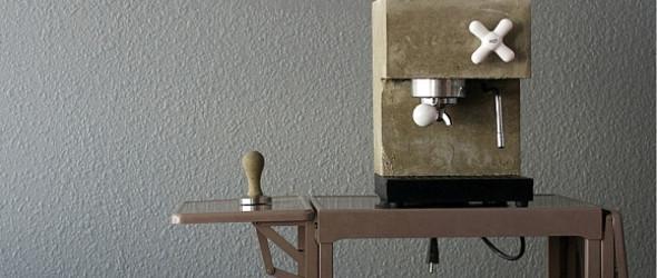 手工水泥咖啡机