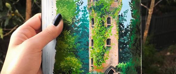 Tara Jane:手绘自然的美好