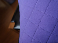 先染版玻璃彩绘郁金香抱枕