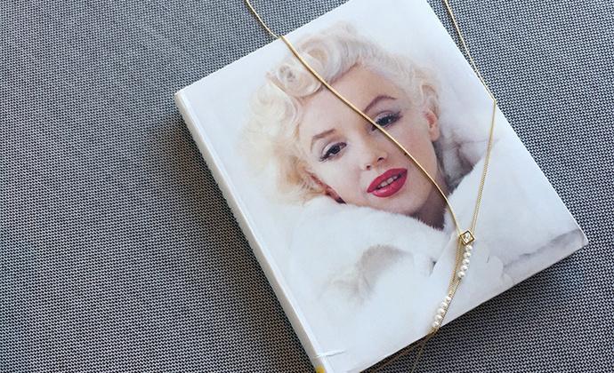 MQ奎妮小姐 小可爱天然珍珠项链/长链