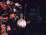 编织圣诞球