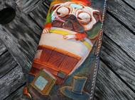 《一只病了的沙皮狗折叠钱包》