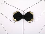小可爱和小领带复古宫廷风真丝压脚领结支持定制