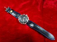 骄阳手工皮具纯手工皮质表带选用意大利进口皮料(图为表带卡口宽度20mm宽)