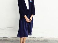旧事原创日系风格宽松和服式薄款防晒衬衫