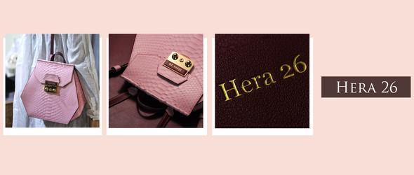 手工皮具// Hera 26 ❤ 蟒蛇双肩包  | 亦或随性、亦或帅气,但一定自信!