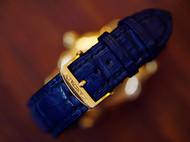 一只蓝色的小鳄鱼表带~~