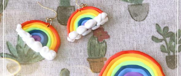 粘土系列丨粘土饰品DIY,生活里总有一些小惊喜等你自己创造