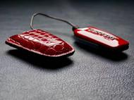 手工钥匙套——法拉利