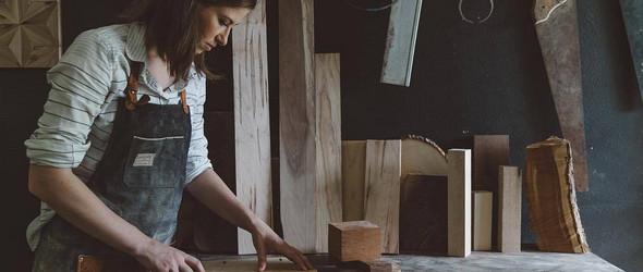 美国女木匠 Celina Muire 的手工木器制品和装饰品