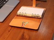 不期而遇丨手工 自制牛皮笔记本 记事本日记涂鸦本 手账本活页