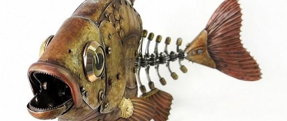 蒸汽朋克动物模型