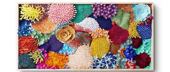 他的纸雕,尽现珊瑚的脆弱美感 | 纸艺家 mlle hipolyte 的纸艺浮雕珊瑚
