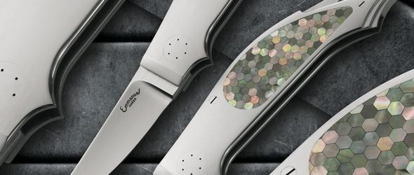 让刀柄像艺术品一样美丽 - 意大利刀匠 Emmanuel Esposito 的手工折刀