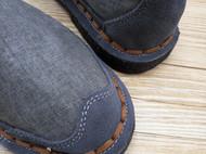 手工男鞋 中国风亚麻休闲鞋