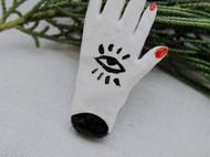 手工石塑粘土胸针冰箱贴