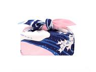 OOIN 冲浪里樱花 风吕敷 绉布 70cm/和风方巾日式包袱皮礼物包装