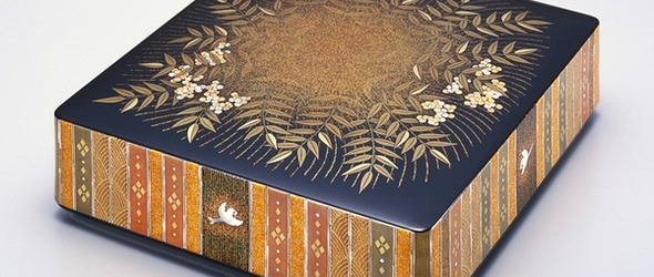 日本人间国宝的莳绘作品