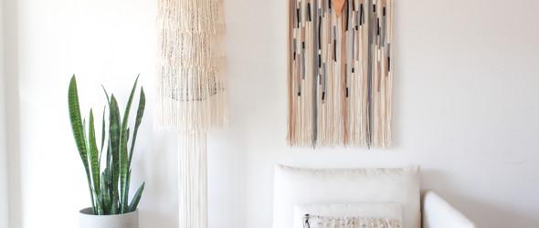 美丽素雅的Macrame编绳艺术 | 葡萄牙设计师 Ana Morais 与 CASULO工作室